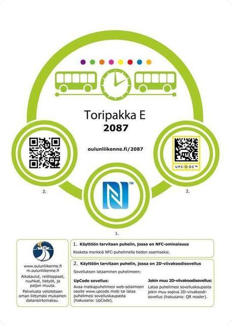 NFC-tagit Oulun seudun bussipysäkeille | NFC News and Trends | Scoop.it