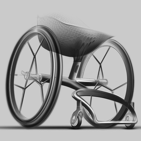 Designers unveil world's first 3D printed consumer wheelchair | Technology for Good | Scoop.it