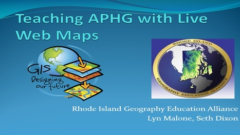 Teaching APHG with Live Web Maps | Geography Education | Scoop.it