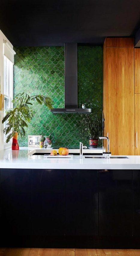 Descubre los azulejos escama de pez | Mil Ideas de Decoración | Decoración de interiores | Scoop.it