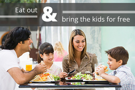 "Spend More Family Time and Less Money at These ""Kids Eat Free"" Restaurants - The Krazy Coupon Lady 