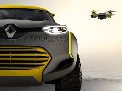 Renault KWID Concept arrives with its own drone | International Business | Scoop.it