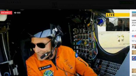 L'avion solaire Solar Impulse 2 boucle sa traversée de l'Atlantique   Electromobilité   Scoop.it