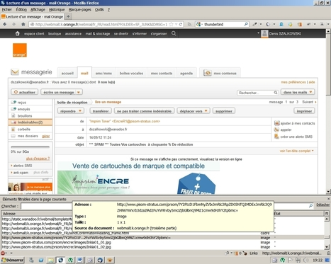 Nouveau support : spam et collecte de données personnelles | Informatique | Scoop.it