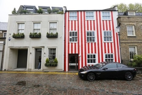 The Paint Job That Enraged London's Super-Rich | INTRODUCTION TO THE SOCIAL SCIENCES DIGITAL TEXTBOOK(PSYCHOLOGY-ECONOMICS-SOCIOLOGY):MIKE BUSARELLO | Scoop.it