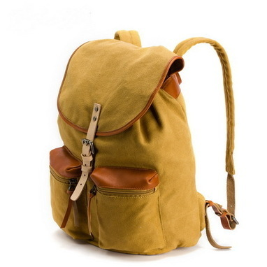 Classic drwastring flap canvas excursion backpack front pocket - $129.60 : Notlie handbags, Original design messenger bags and backpack etc | Womens fashion | Scoop.it
