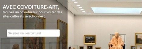 Covoiture-art pour associer covoiturage et culture | Actu Tourisme | Scoop.it