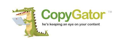 CopyGator - Catching duplicate content & plagiarism in the Blogosphere.   HERRAMIENTAS ANTIPLAGIO   Scoop.it