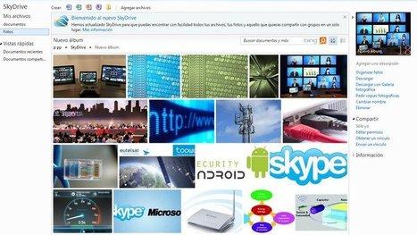 SkyDrive dará alojamiento ilimitado para fotos y documentos de Office | Recull diari | Scoop.it