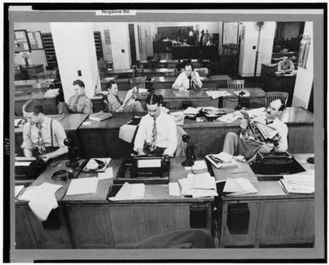 Back to the newsroom: A new program lets professors go back to the thick of today's news work | Multimedia Journalism | Scoop.it