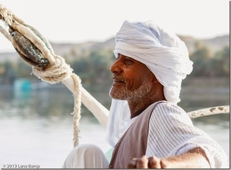 Never Mind The Bumps On The Road: Postcard: The Nile: Felucca captain; Nile River, Aswan, Egypt | Samanello Gazette | Scoop.it