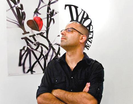 interview with typographer oded ezer | Inspiring Typography | Scoop.it