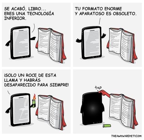 Por qué he aparcado el libro electrónico y he vuelto a comprar libros tradicionales | Las TIC en el aula de ELE | Scoop.it