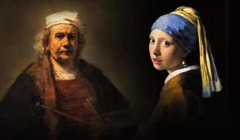 Rembrandt o Vermeer, ¿quién te gusta más? - Alejandro Cernuda   Comentarios sobre arte, pintura, escultura, fotografía   Scoop.it