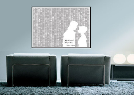Art That You Can Read Your Favorite Classic Book On | Home & Office Styling | Scoop.it