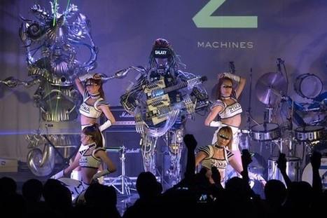 Les Inrocks - Squarepusher et les robots : un homme, 22 bras et 78 doigts | Espace de robot | Scoop.it