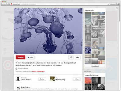 Pinterest ready to test new design | Business in a Social Media World | Scoop.it