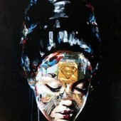 Super Hero Canvas by Sandra Chevrier | Krijgsman Art Times | Scoop.it
