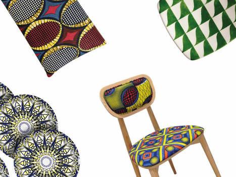 Déco : 10 objets en wax pour faire voyager votre intérieur | Habitat intérieur | Scoop.it