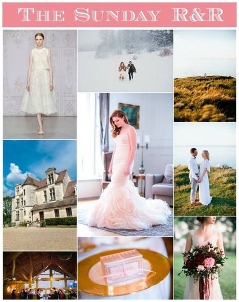 The Sunday R&R | French Wedding Inspiration | Scoop.it