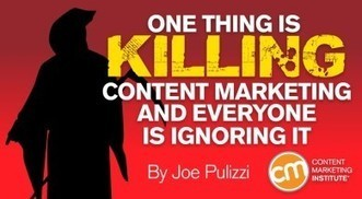 One Thing Is Killing Content Marketing and Everyone Is Ignoring It | Public Relations & Social Media Insight | Scoop.it
