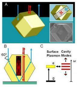 DNA does design: 3D plasmonic photonic crystallization of DNA-guided colloidal crystals | Amazing Science | Scoop.it