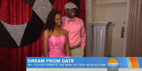 'It's Been Like A Fairy Tale:' NFL Player Gives Teen With Autism The Prom Night Of Her Dreams | Autism | Scoop.it