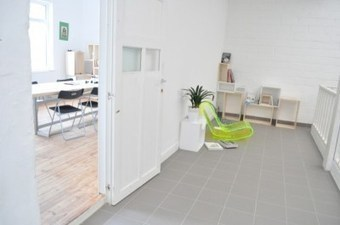 "The Co-Working Lab or ""CoLab"" 