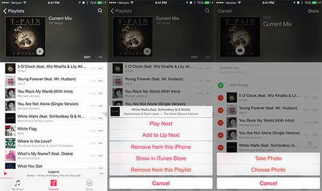 iOS 8.4 bêta 1 est de sortie, avec une nouvelle version de Musique   E-Music !   Scoop.it