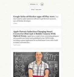 Skimr. Un lecteur web de Rss simple - Les outils de la veille | Geeks | Scoop.it