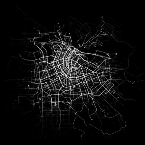 Human data shows how we move in Amsterdam | #dataviz #sensors | e-Xploration | Scoop.it