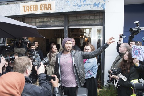 Russell Brand's Café Hasn't Started A Revolution, But It May Just Help Turn These Lives Around | Peer2Politics | Scoop.it