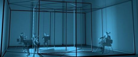 Visual Exformation: création musicale et lumineuse pour un œil à l'écoute | Digital Creativity & Art | Scoop.it