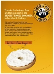 How Einstein Bros Bagels Got it Right | Social Media Campaigns | Scoop.it
