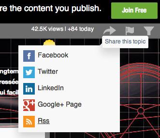 Comment accéder au flux RSS de ce blog ?   Ressources pour la Technologie au College   Scoop.it
