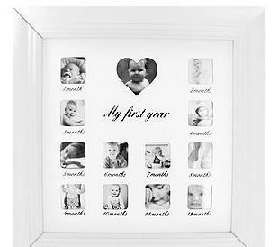 Large White Babies My First Year Wall Photo Frame | Various Photo Frames | Scoop.it