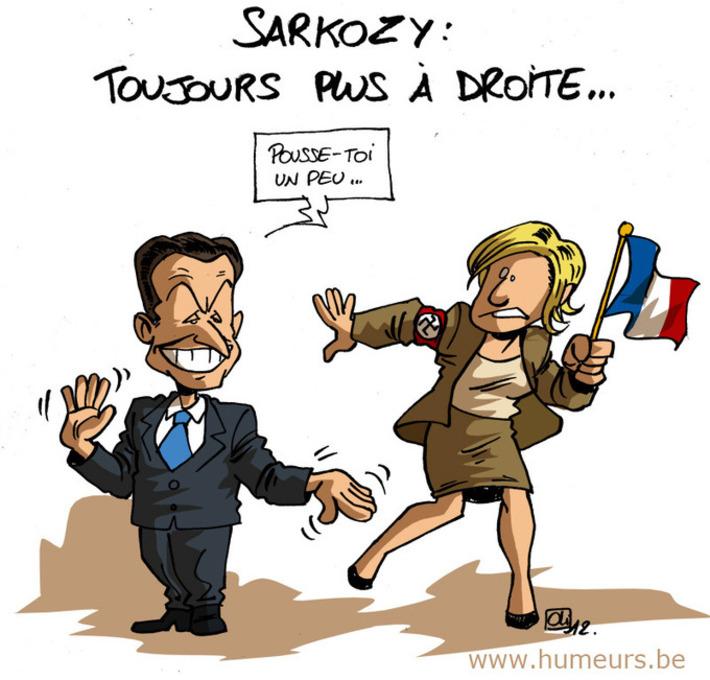 Sarkozy de plus en plus à droite ! | Baie d'humour | Scoop.it