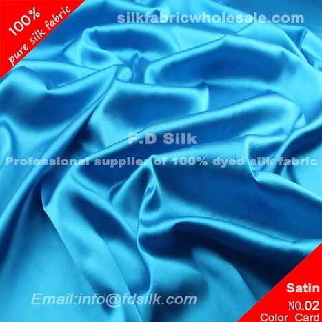 Silk Fabric, Silk Fabric Wholesale, Online Silk Fabrice Store F.D. silk most professional 16mm silk charmeuse fabric-blue jewel supplier. | lucyfabriconline | Scoop.it