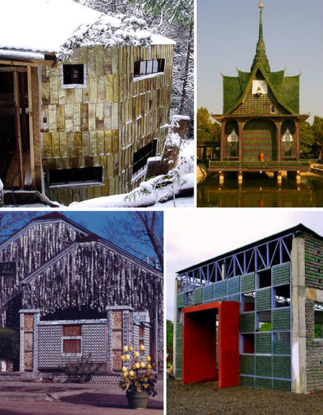 30 Eco-Chic Houses Made of 10 Types of Recycled Materials | WebEcoist | Curation Project: Using technology to investigate and explore the use of materials in everyday objects | Scoop.it