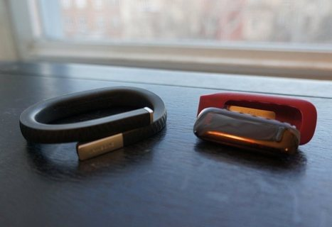 Jawbone's Up vs. Fitbit's One | UX-UI-Wearable-Tech for Enhanced Human | Scoop.it