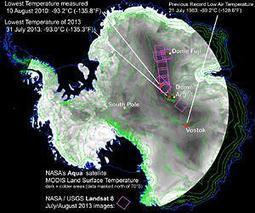 NASA-USGS Landsat 8 Satellite Pinpoints Coldest Spots on Earth | Sustain Our Earth | Scoop.it