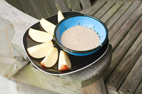 Apple With Vanilla-Cinnamon Dip *Video | My Vegan recipes | Scoop.it
