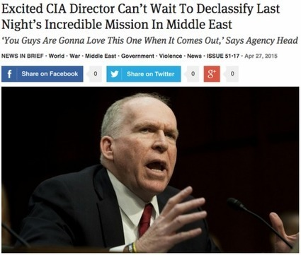 Excited CIA Director Can't Wait To Declassify Last... | Syria war and Turkey war | Scoop.it