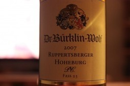 Weinrallye #50: Naturwein-Riesling von Dr.Bürklin-Wolf | Weinrallye | Scoop.it