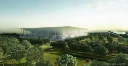 Herzog & de Meuron Breaks Ground on 'Grand Stade de Bordeaux' | projet de bordeaux | Scoop.it
