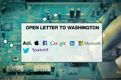 Tech companies pressure Obama over NSA | Business News - Worldwide | Scoop.it