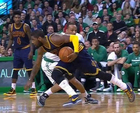 Kyrie Irving Double Crossover on Avery Bradley - Basketball Crossover   Basketball Locker   Scoop.it