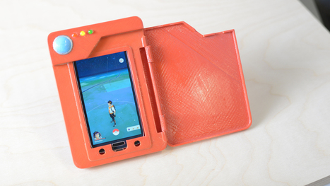 This DIY Pokedex Battery Case Is the Pokémon Go Accessory You Have Been Waiting For | News we like | Scoop.it