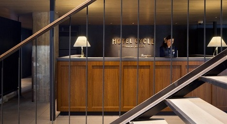At hotel for cyclists, guests can ride right up to reception | East Coast Limousine Service | Scoop.it