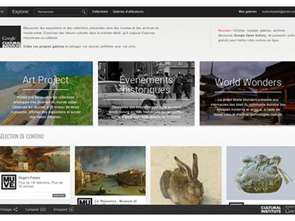 Institut culturel de Google : les grands événements qui ont marqué l'Histoire sont en ligne   Culture & Wikipédia   Scoop.it